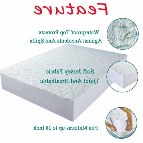 Bamboo Mattress Cover Hypoallergenic