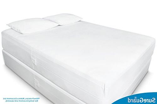 Queen SureGuard - 100% Waterproof, Bed Bug Proof, - Year