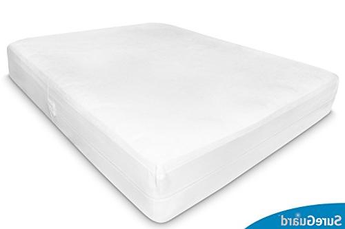 Queen Mattress Encasement - Bug Proof, - 10 Warranty