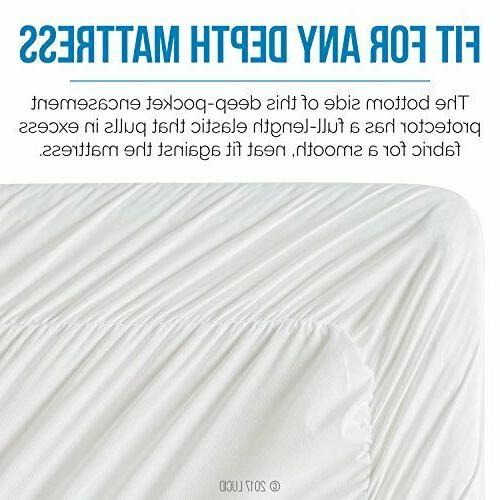 LUCID Mattress Protector - Surrounds Assorted Sizes
