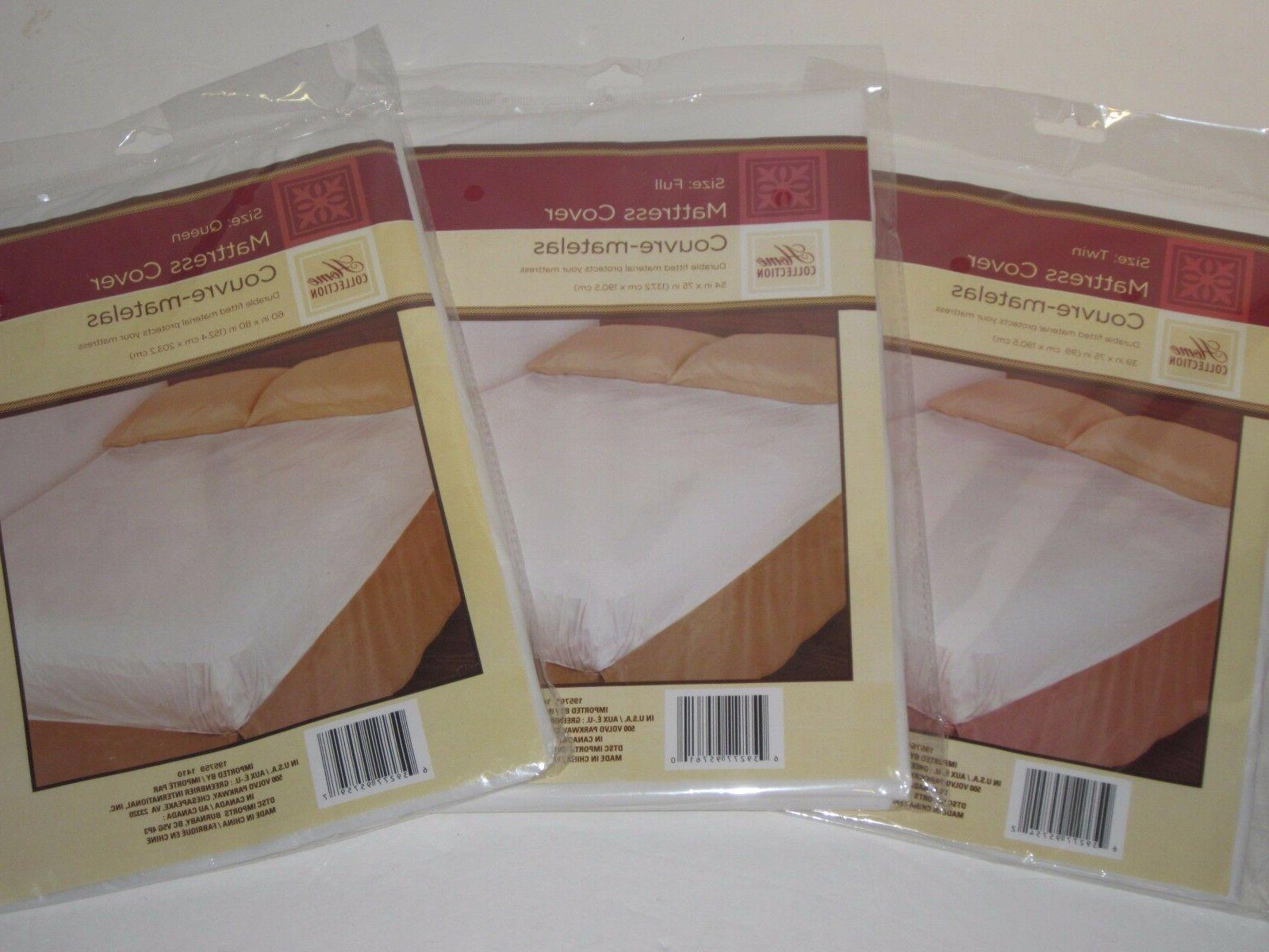 Fitted Plastic Mattress - Lightweight Bed Wetting Protection