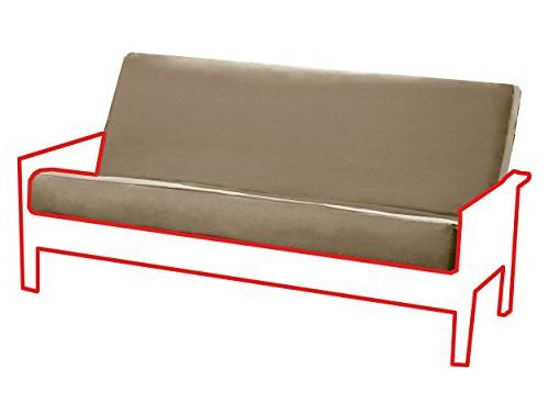 Sleep Products Futon Cover 3 Sided Zipper
