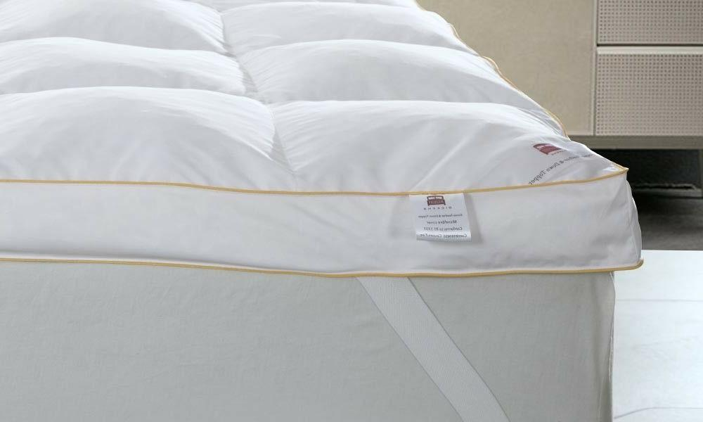 Goose Feather Topper Luxury Bed Protector