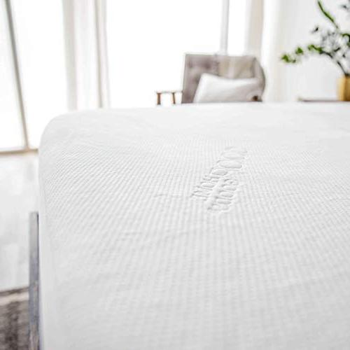 Lulltra Waterproof Mattress Protector by Home - White -15