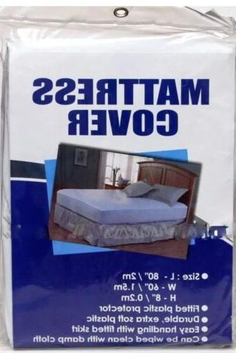 mattress cover plastic bed protector