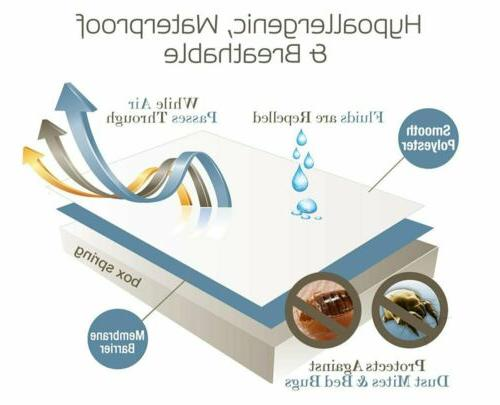 Mattress Waterproof Topper Encasement