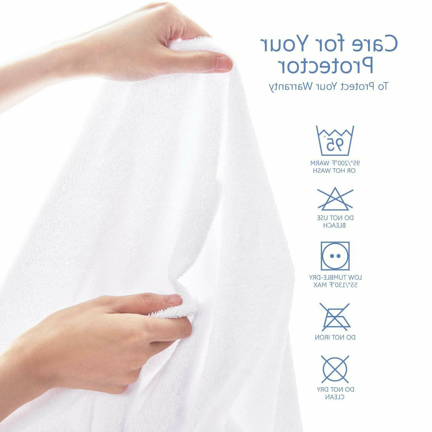 Mattress Cover Protector Pad Twin/Full/Queen/King Cover