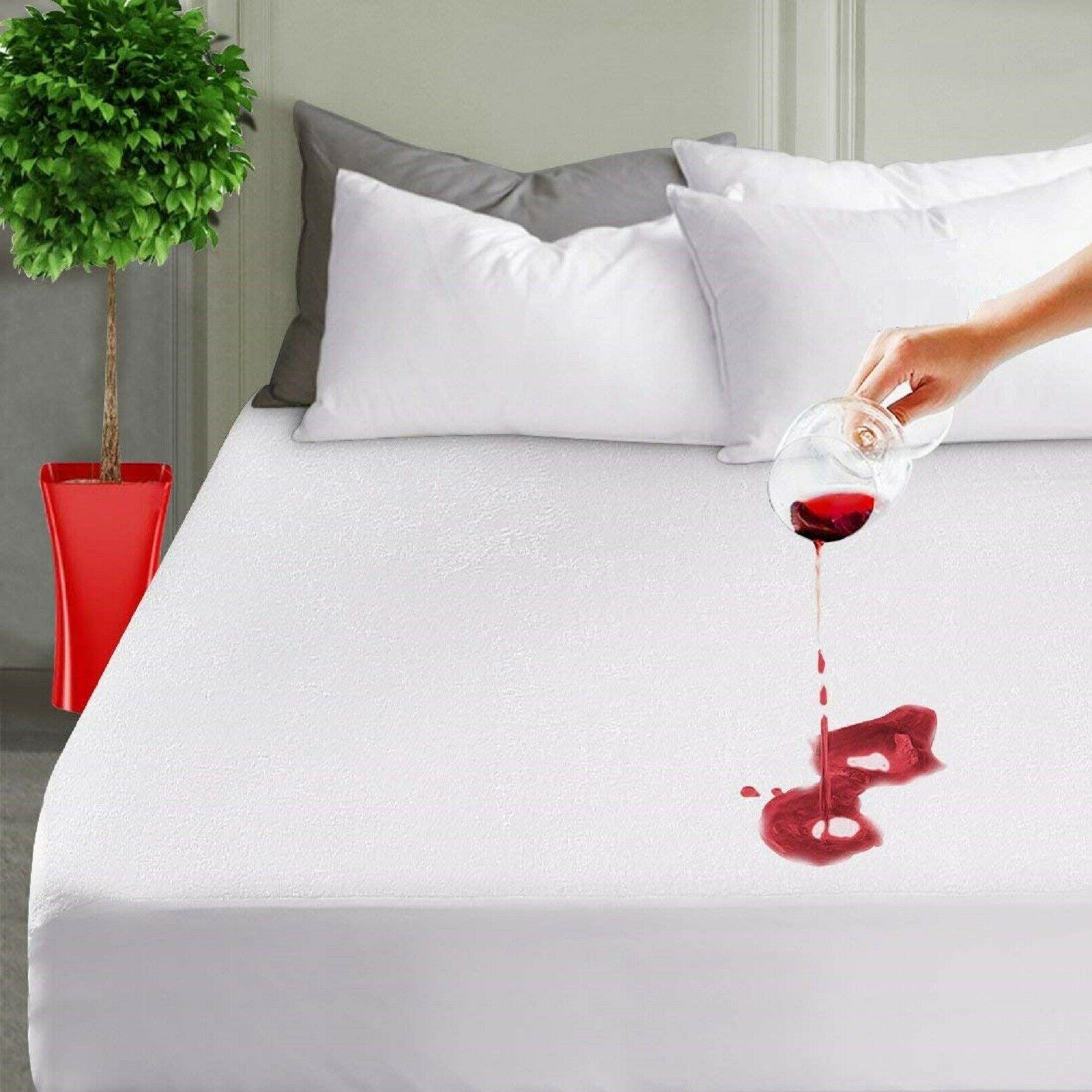 Mattress Cover Protector King Size Waterproof Pad Bed