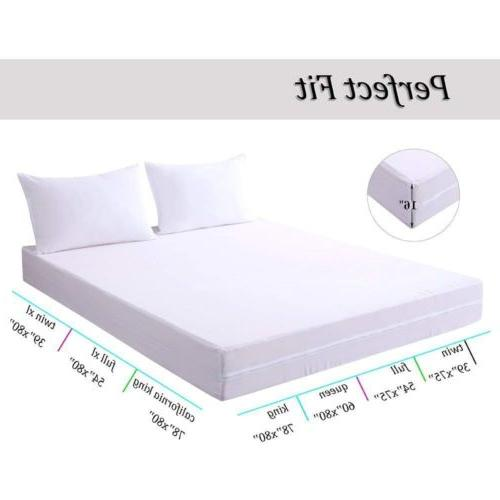 Mattress Protector Pad Zipper Bug Bed Cover