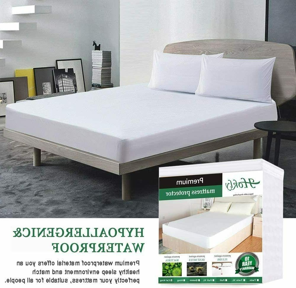 Mattress Cover Queen Size Bed Hypoallergenic