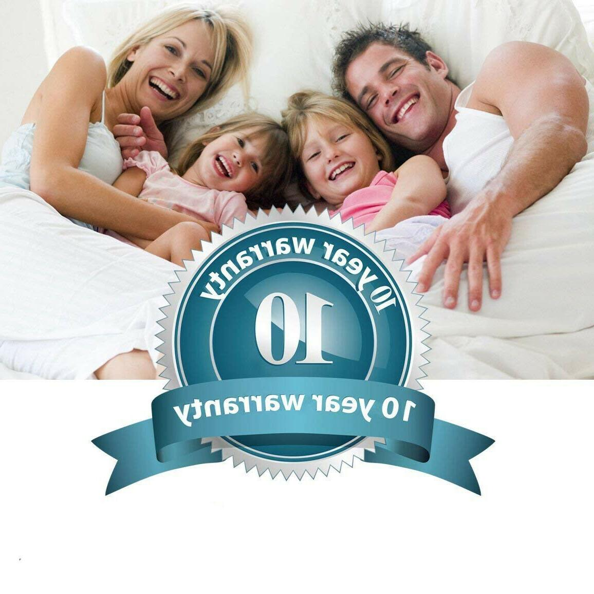 Mattress Protector Queen Size Bed Hypoallergenic