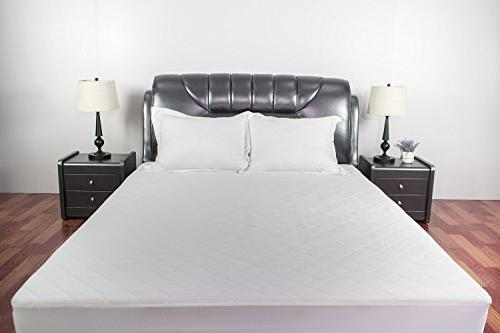 Sunstyle Home Mattress Pad Soft Quilted Mattress Cover