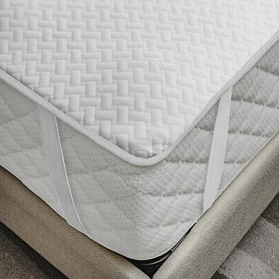 mattress protector breathable sheet with straps fitted