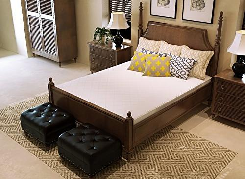 UberSoft Mattress Pad Cover is Waterproof Hypoallergenic for Accidental Spills, Bed Enuresis with