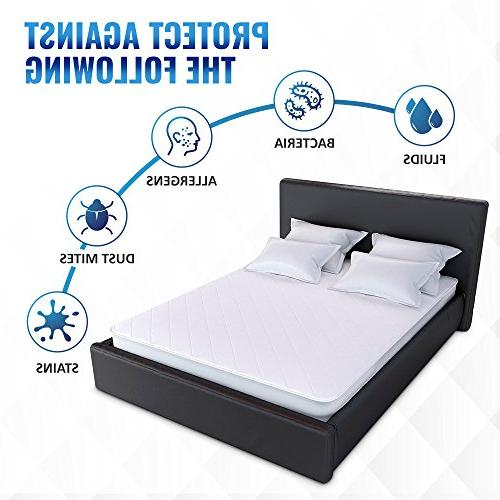UberSoft Bedding Pad for Bed: Cover is Hypoallergenic Bed and Enuresis with