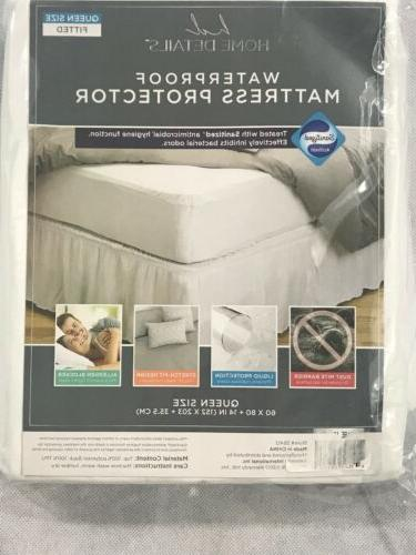Home Queen Sanitized Anti-Bacterial Fitted Waterproof