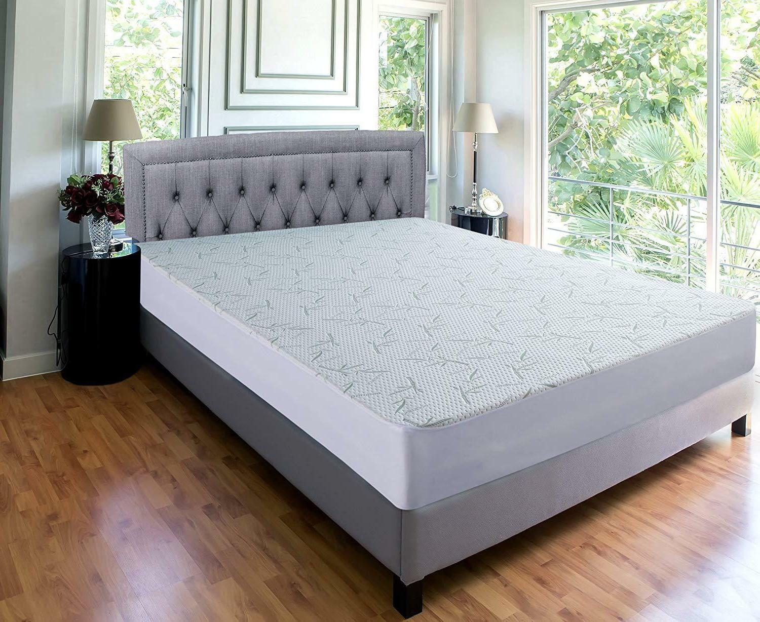 Waterproof Bamboo Mattress Fitted Bedding
