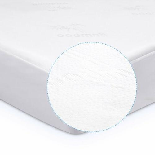 Bamboo Sizes Bed Dust Mites Soft Pad
