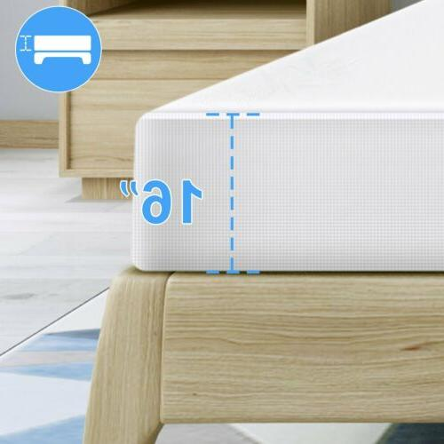 Bamboo Sizes Bed Dust Waterproof Soft Pad