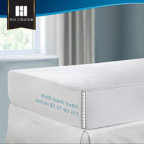 Bedecor Size Mattress Protector - Noiseless and Premium Cover