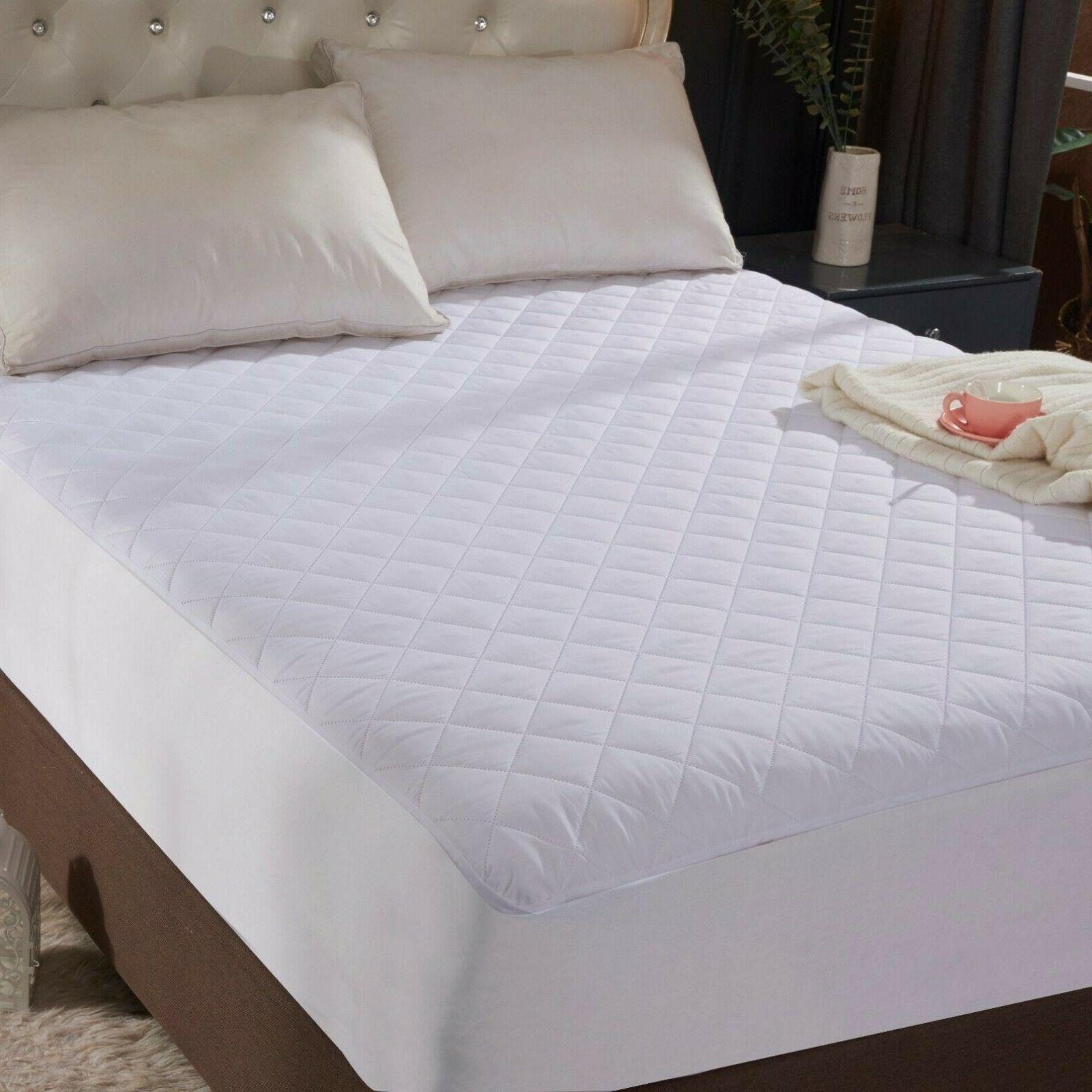full size quilted mattress protector pad topper