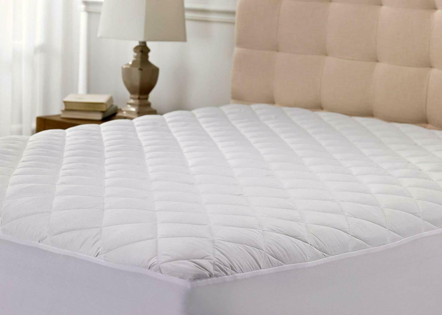 quilted mattress cover protector queen size bedding