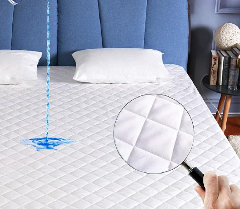 Quilted Waterproof Mattress Pad Fitted Top