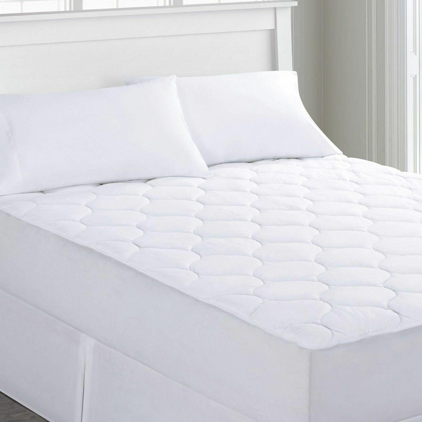 Quilted Waterproof Mattress Pad  Against Bed Bugs