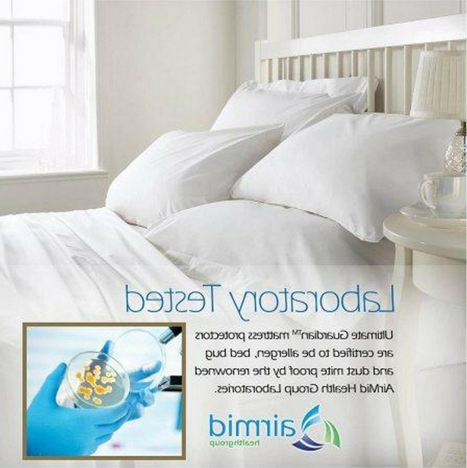 Ultimate Mattress Cover Zippered LabTested