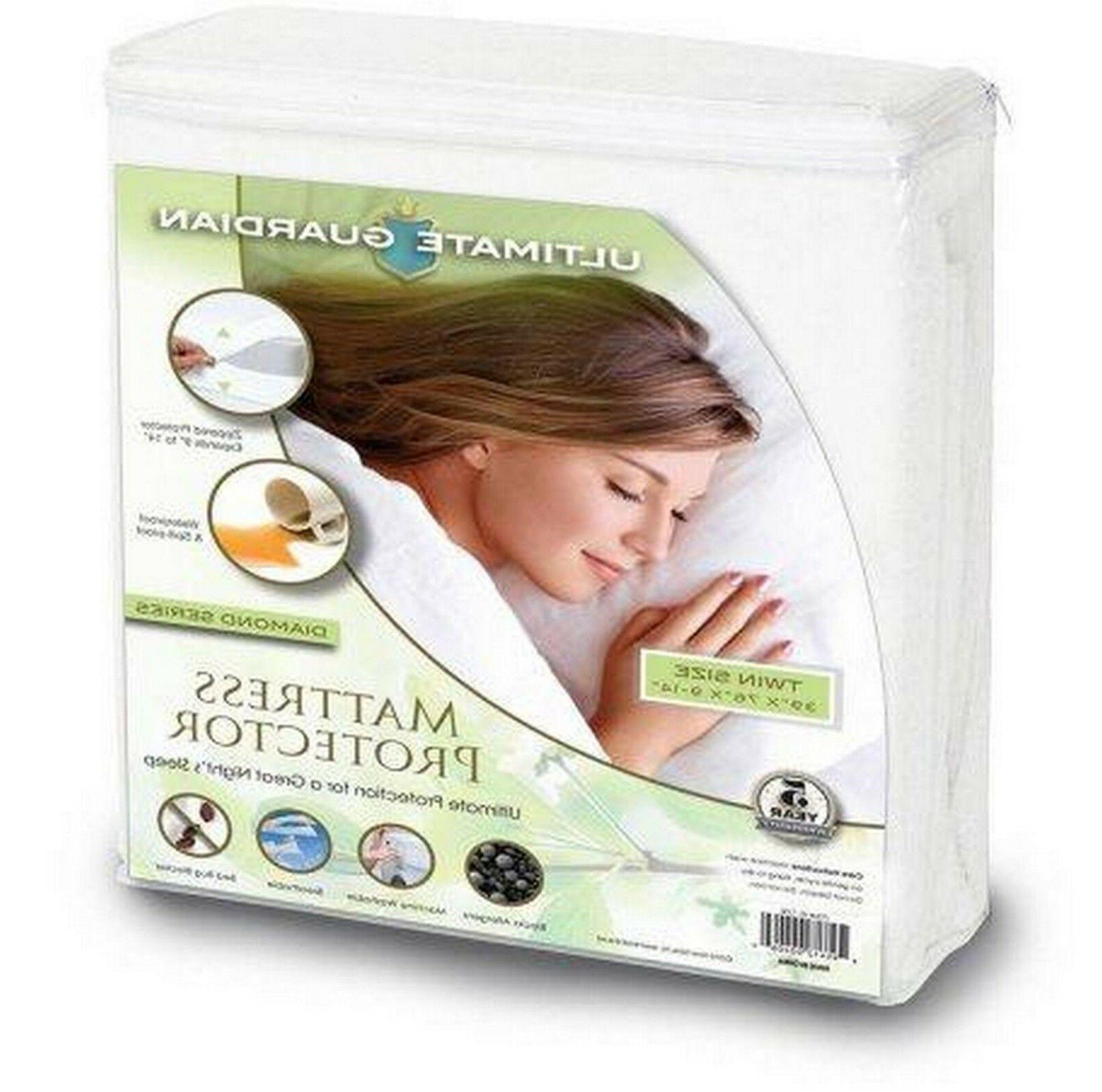 ultimate guardian bed bug mattress protector cover