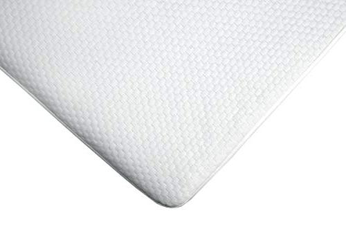 Vinyl Full Size Waterproof Hypoallergenic - Breathable, Allergen - Soft Quilted Sheet White