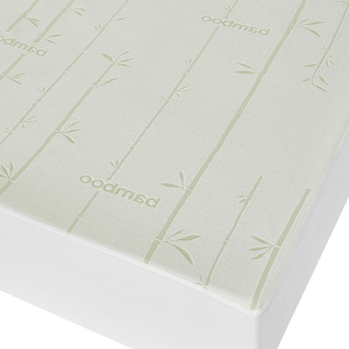 Bamboo Waterproof Mattress Soft Antibacterial