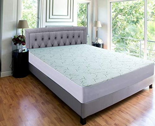 Utopia Waterproof Mattress Protector - Fitted - Breathable Flow -