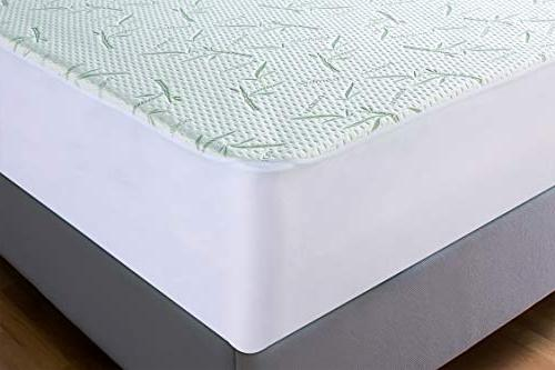 Utopia Mattress Protector Breathable Cool Flow -