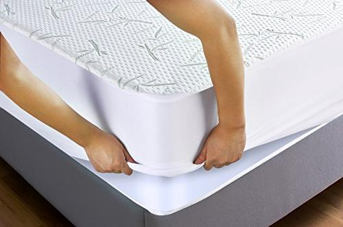 Utopia Bedding Waterproof Mattress Fitted Breathable Flow -