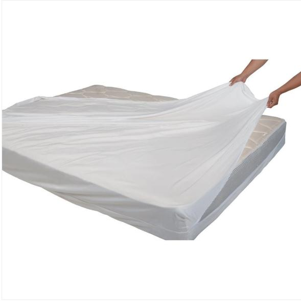 Waterproof Encasement Cover Mattress Bed Queen