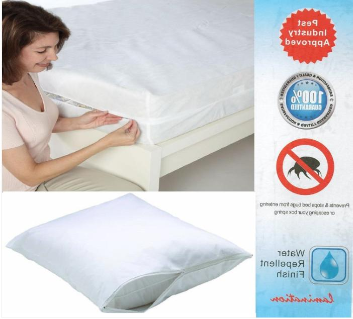 Waterproof Zippered Mattress Queen King