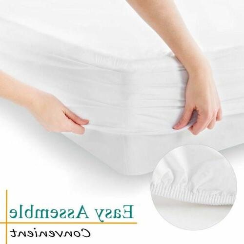 Mattress Cover Pad King Bed Hypoallergenic