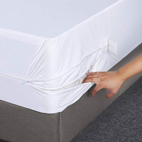 Utopia Zippered Encasement Bed Bug Proof, Mattress Mattress