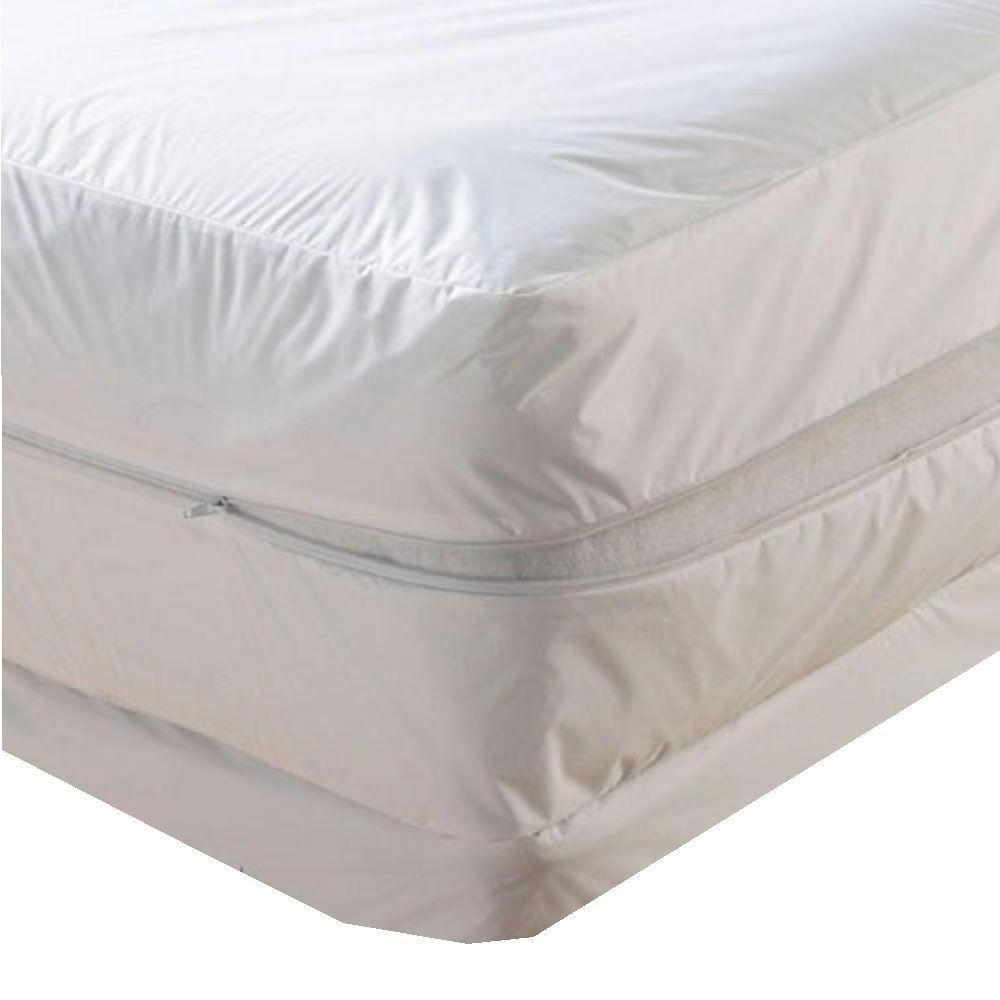 waterproof zippered mattress protector bed bugs dust