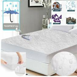 LOT Mattress Protector / Pad Waterproof Soft Terry Cotton Hy