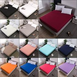 Machine Washable Waterproof Mattress Cover Protector Bed Pad