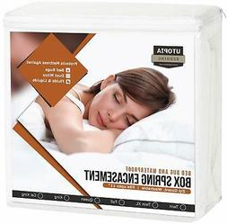 Matress Protection Box Spring Dust Mites Hypoallergenic Bed