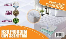 Mattress Pad - Cooling Bed Cover - Overfilled Ultra Soft Hyp