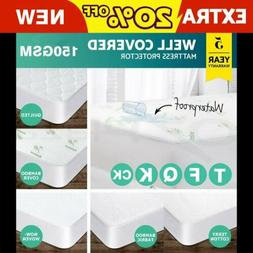 mattress cover protector bed bug waterproof cotton