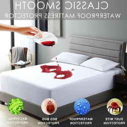 Mattress Cover Protector Pad Twin/Full/Queen/King Size Bed C