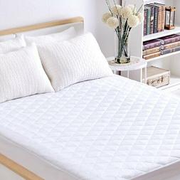 Sable Mattress Pad Protector, Queen Size Waterproof Quilted
