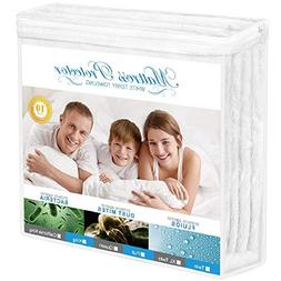 Adoric Mattress Protector, Full Size Waterproof Mattress Pro