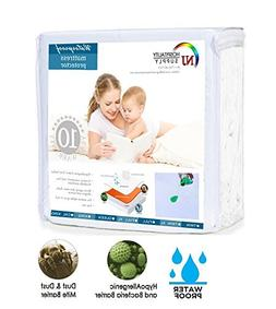 Everest Mattress Protector Premium Cotton Terry Fitted Cover