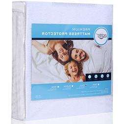 Mattress Protector Cover Waterproof Breathable Cotton Rich t
